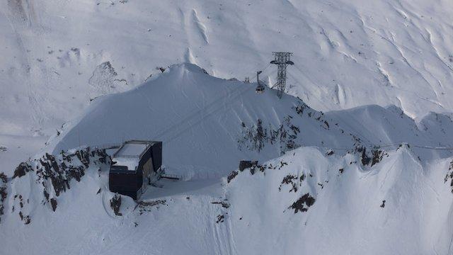 Der Gipfel am Gemsstock wird eröffnet