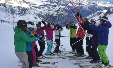 Skilehrerinnen und Skilehrer sind bereit – die Skischüler können kommen