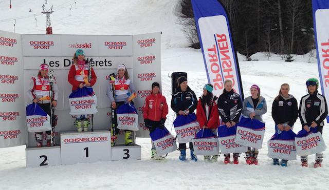 Aline Danioth ist JO – Schweizermeisterin im Slalom
