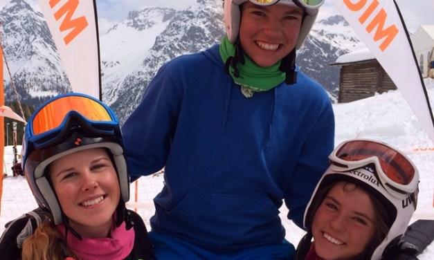 Finale GP Migros in Arosa, Aline Danioth, Eliane Christen und Leoni Zopp waren top