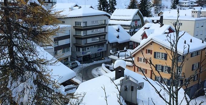 Heftiger Wintereinbruch im Urserntal