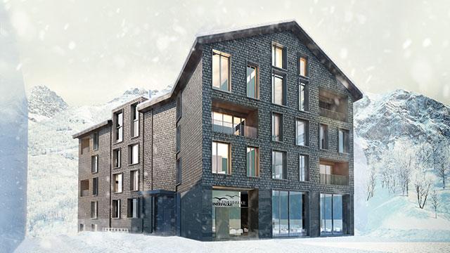 """Fünftes Apartmenthaus """"Schneefalke"""" lanciert."""