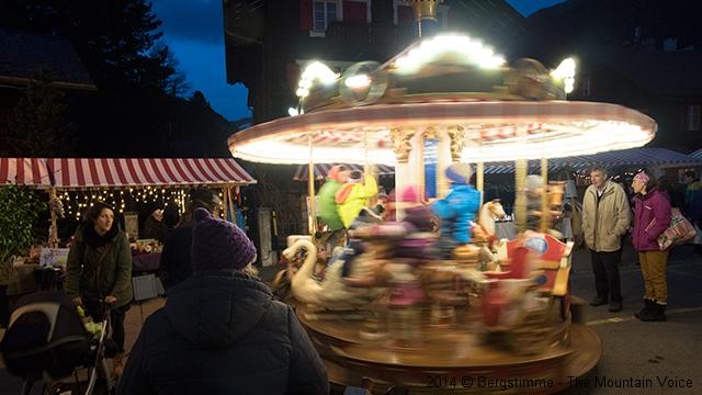 Weihnachtsmarkt in Andermatt