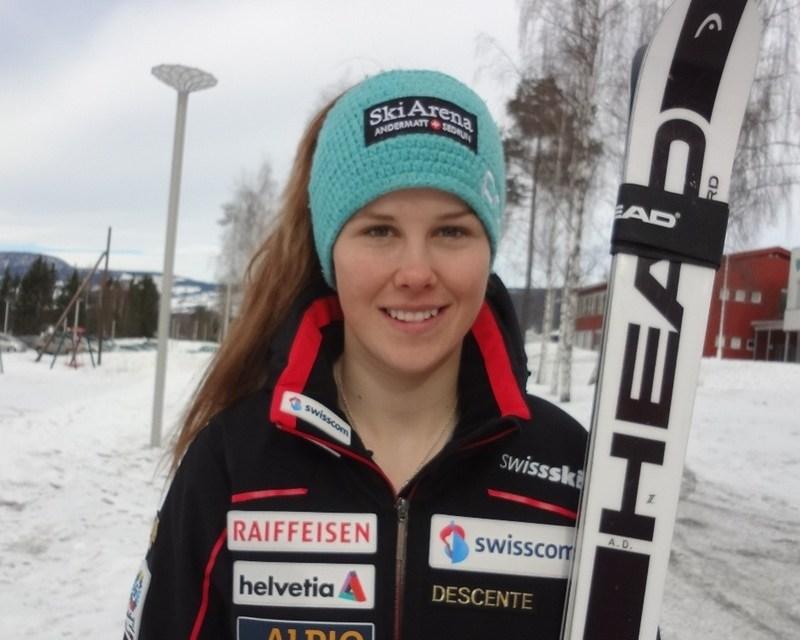 Aline Danioth fährt hervorragend an den Junioren Weltmeisterschaften in Hafiell (Norwegen)
