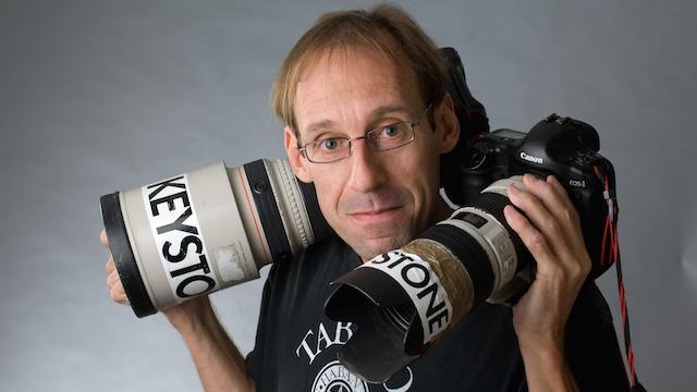 Keystonefotograf Urs Flüeler fotografiert mit Leidenschaft in Uri