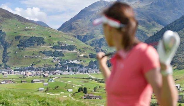 """Neue Golf-Destination unter dem Namen """"Andermatt Golf Region"""""""
