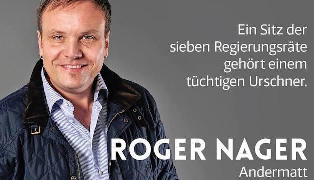 Roger Nager in den Urner Regierungsrat