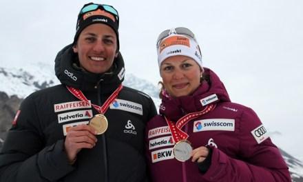 Medaillen für Tanja Bissig und Fabian Zberg