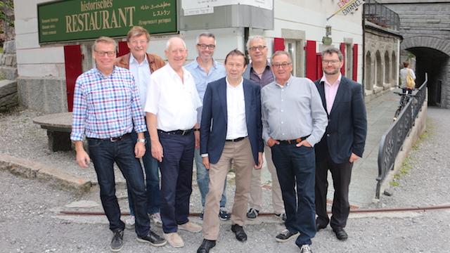 Gründungsmitglieder Restaurant Teufelsbrücke AG
