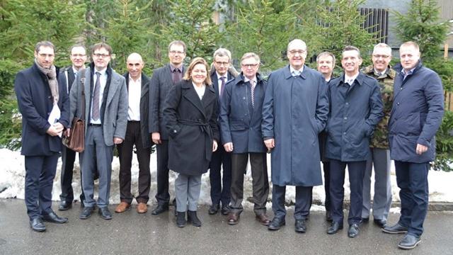 Besuch von Bundesrat Guy Parmelin im Urserntal
