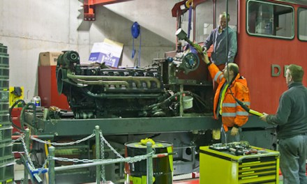Tag der offenen Tür: Werkstätte Dampfbahn Furka-Bergstrecke in Realp