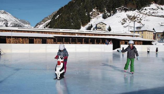 Andermatt erhält ein Eisfeld