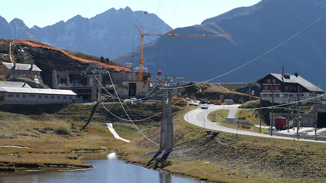 Update: Verbindung Andermatt-Sedrun beidseitig befahrbar