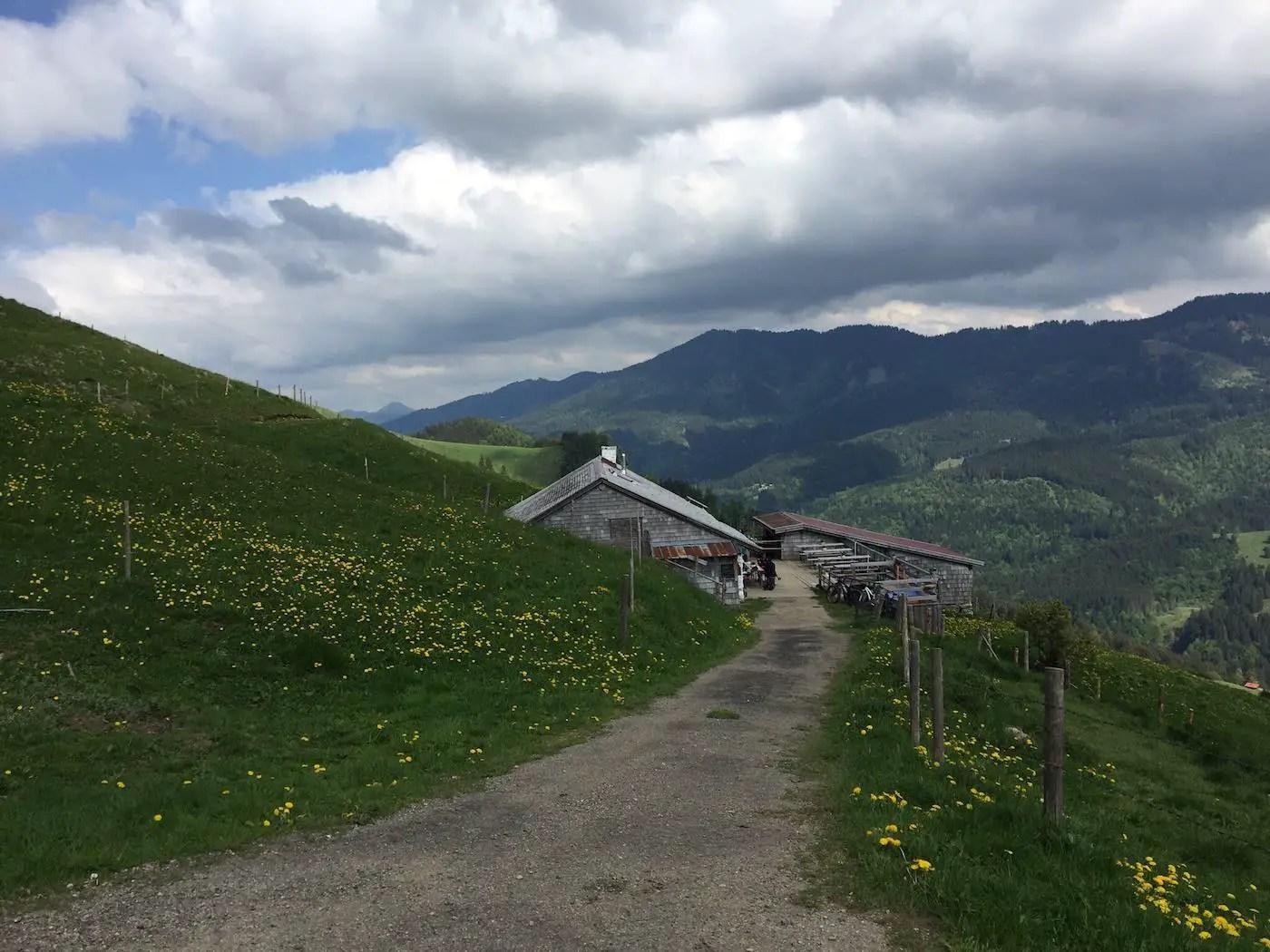 Obere Schwand-Alpe, 1330m