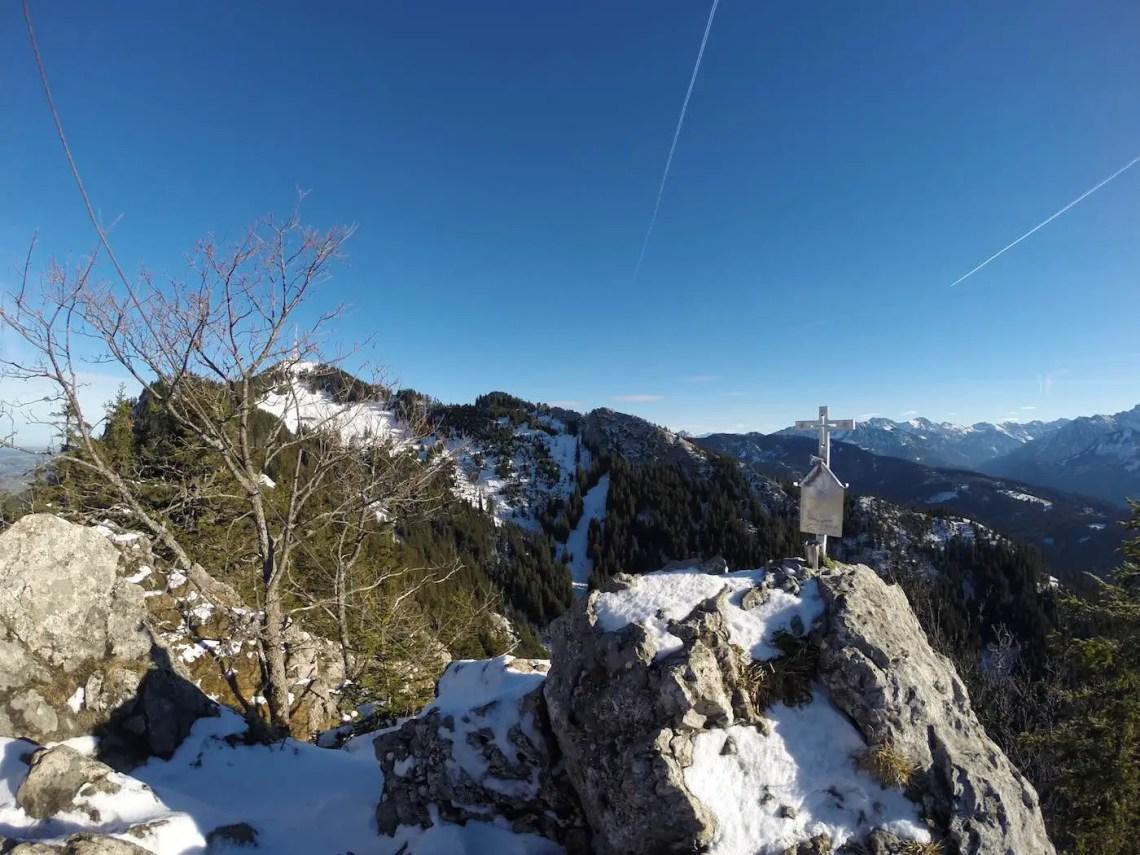 Auf dem Gipfel des Burgberger Hörnle