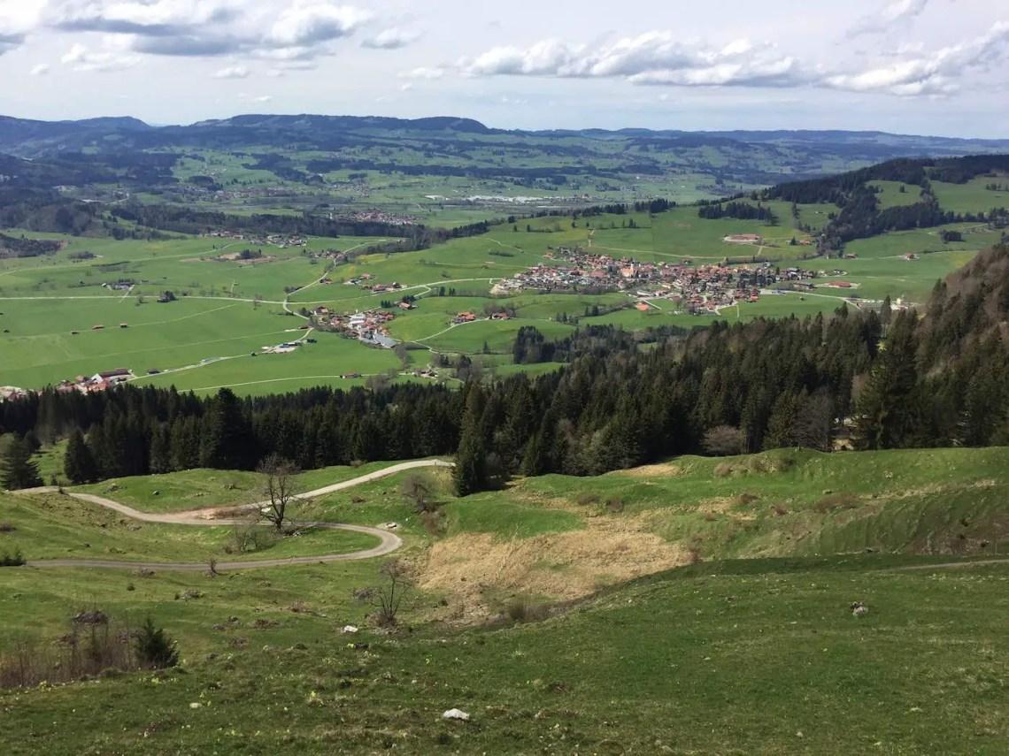 Blick Richtung Rettenberg