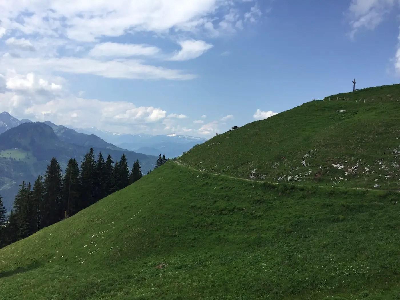 Hirschbergalpe, 1493m