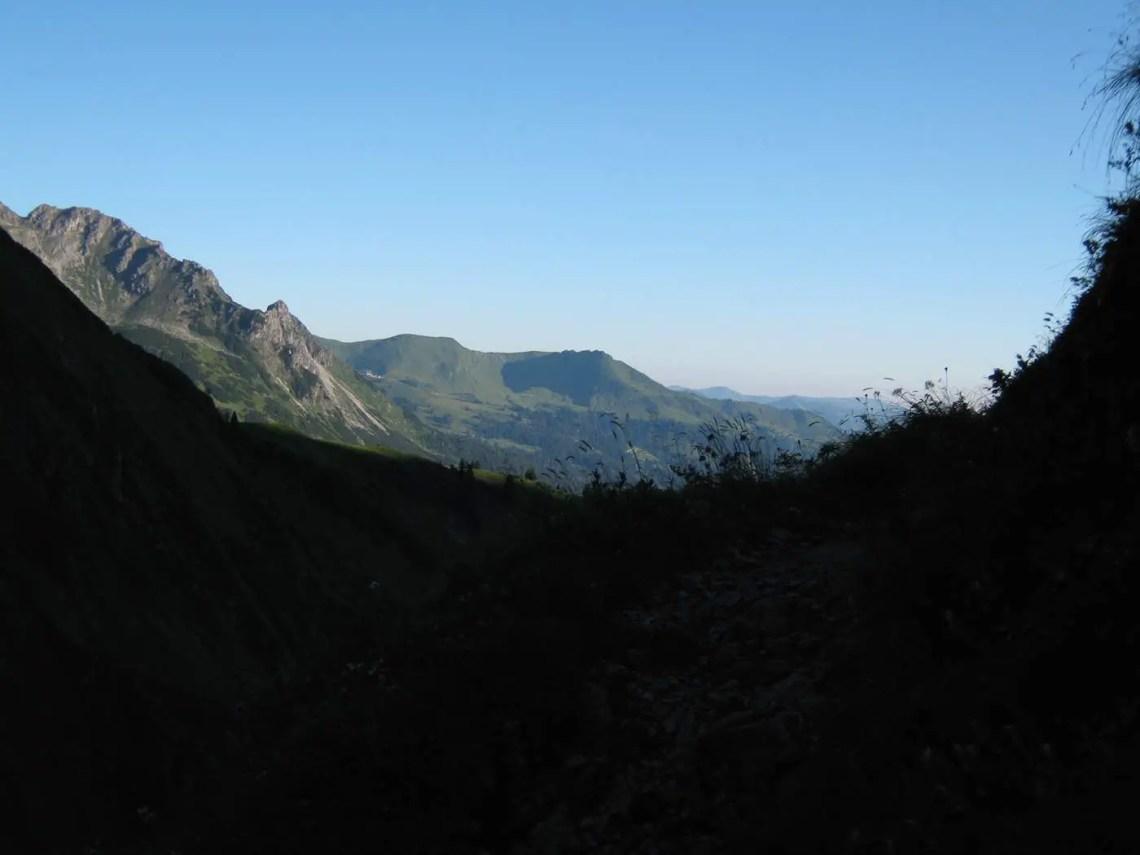 Blick in Richtung Fellhorn