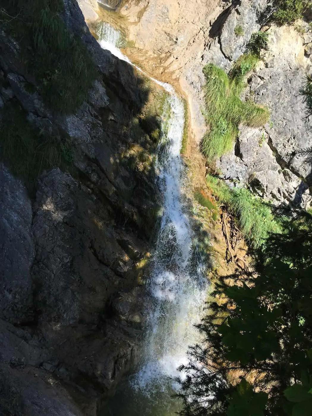 Wasserfall bei Hinterstein
