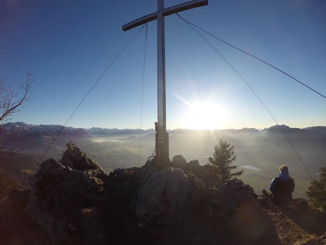 Gipfelkreuz Burgberger Hörnle