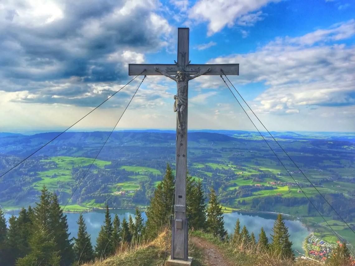 Immenstädter Horn Gipfelkreuz