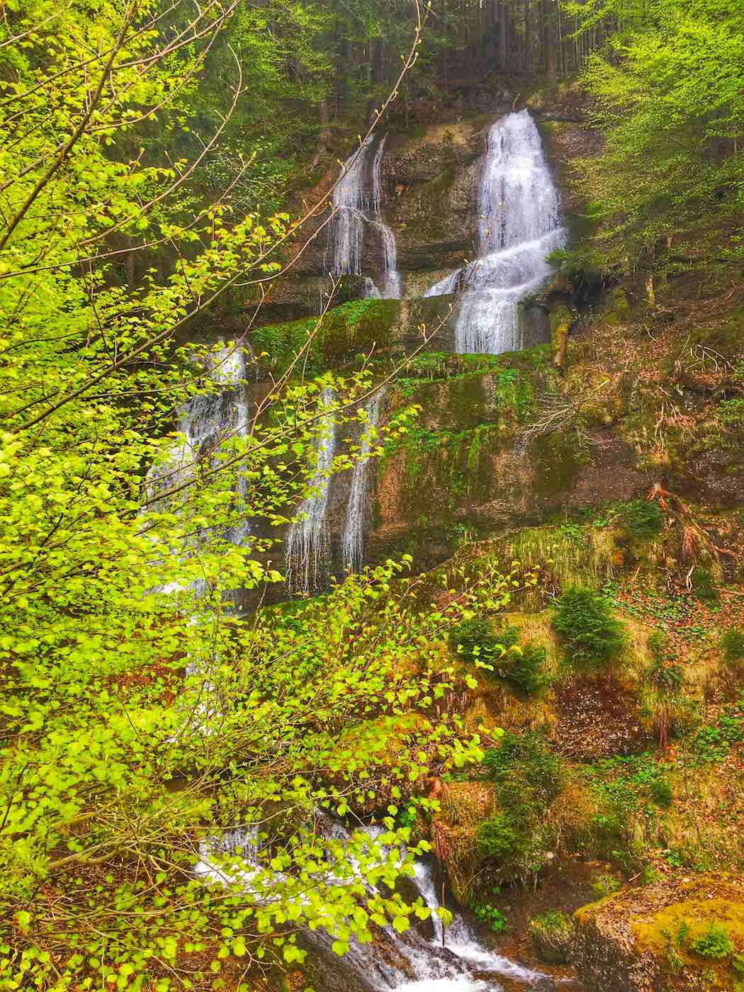 Wasserfälle am Immenstädter Horn
