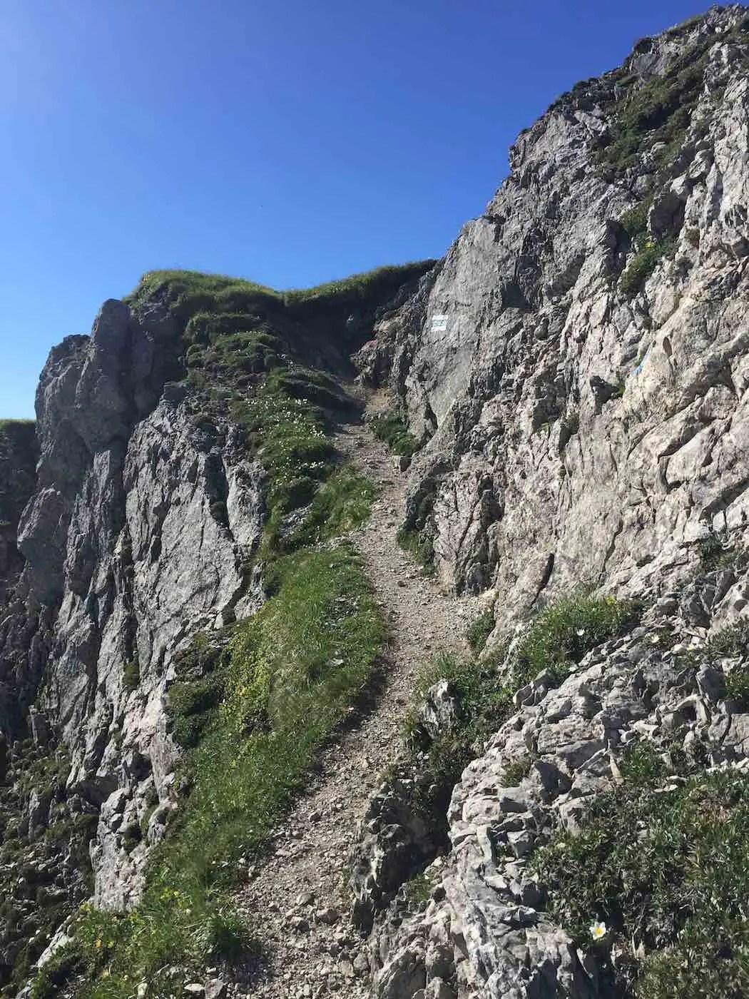 Aufstieg zum Rauhhorn