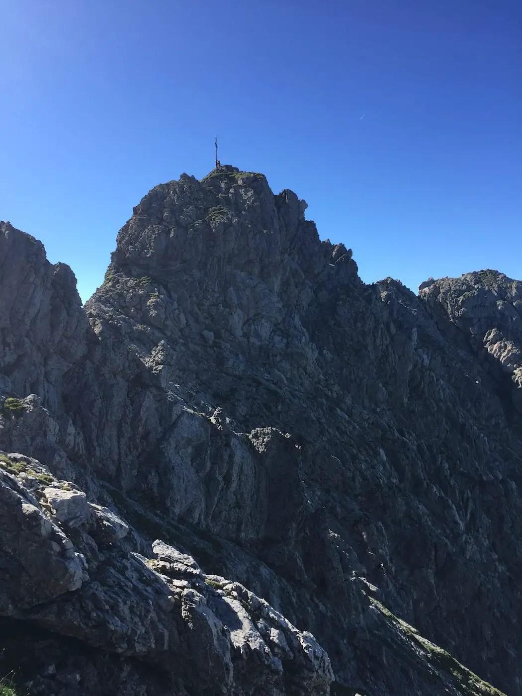 Der Gipfel des Rauhhorn