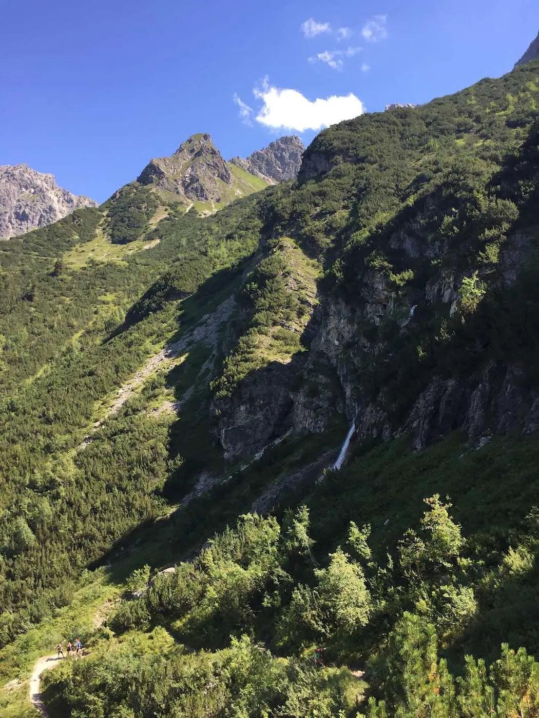 Am Wildental Wasserfall