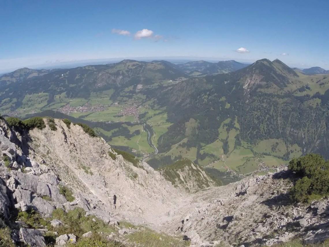 Blick nach Bad Oberdorf & Hindelang