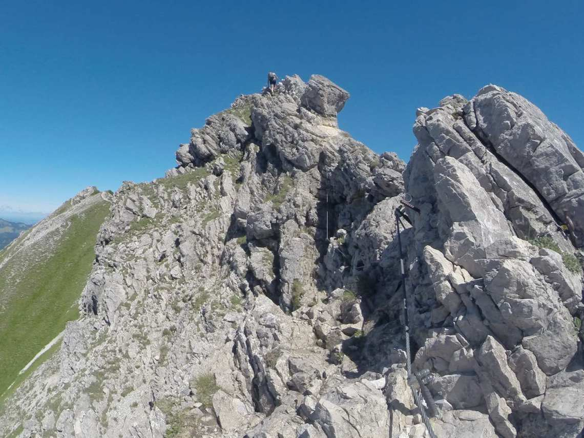 Hohe Gänge Klettersteig