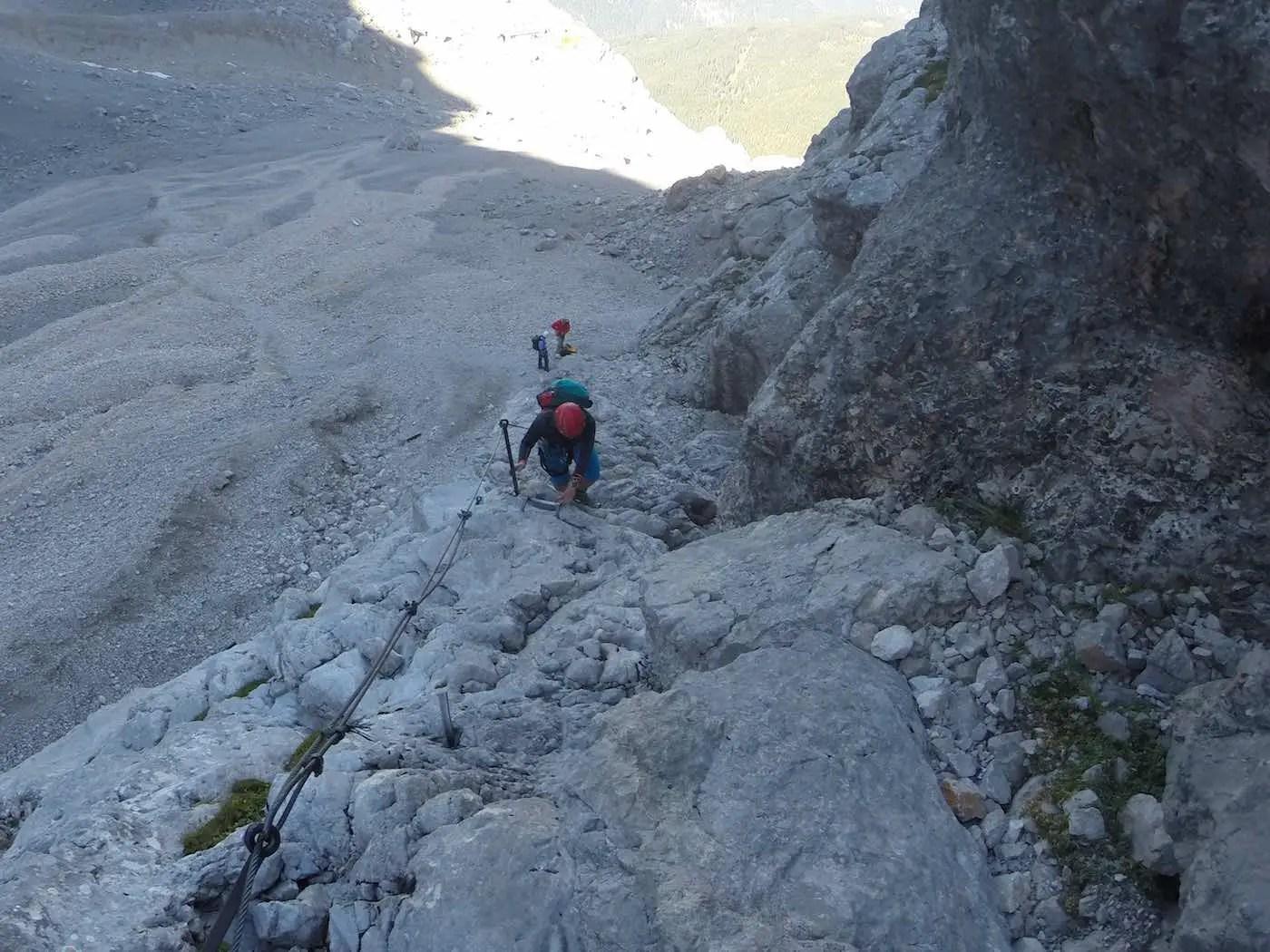 Bildergalerie Zugspitze über Stoppelzieher-Steig
