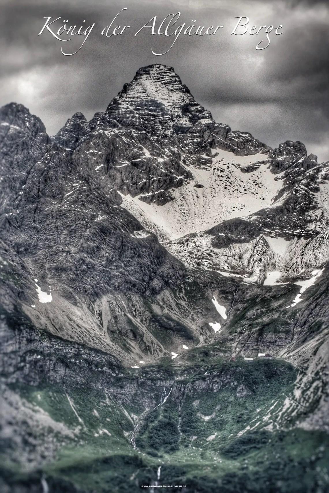 Hochvogel - König der Allgäuer Berge