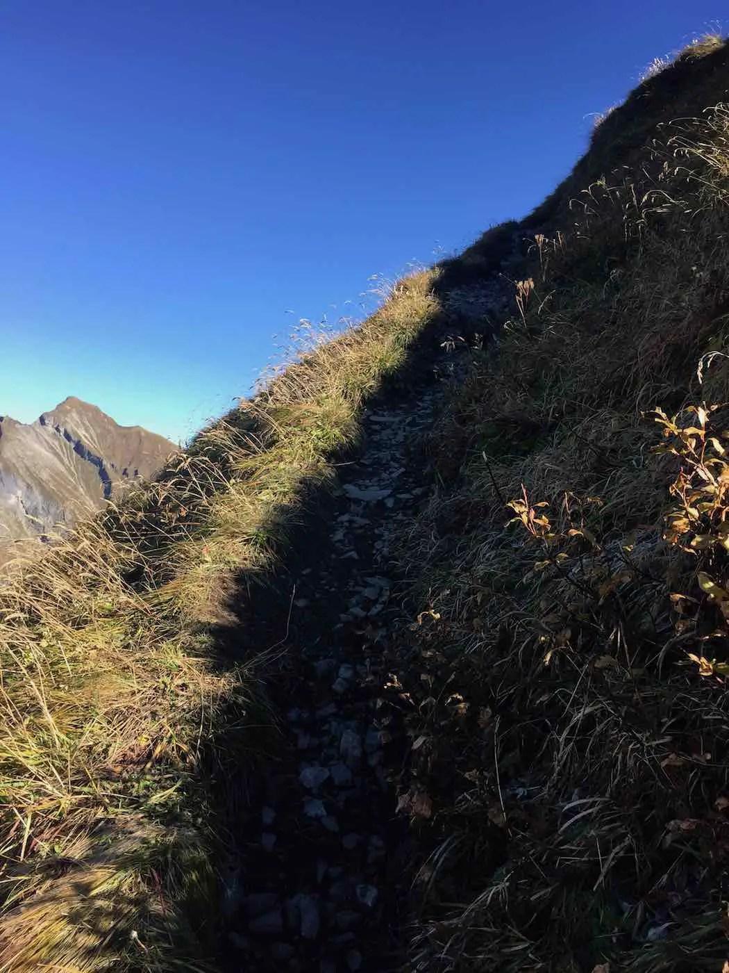 Aufstieg zum Eissee und Rauheck