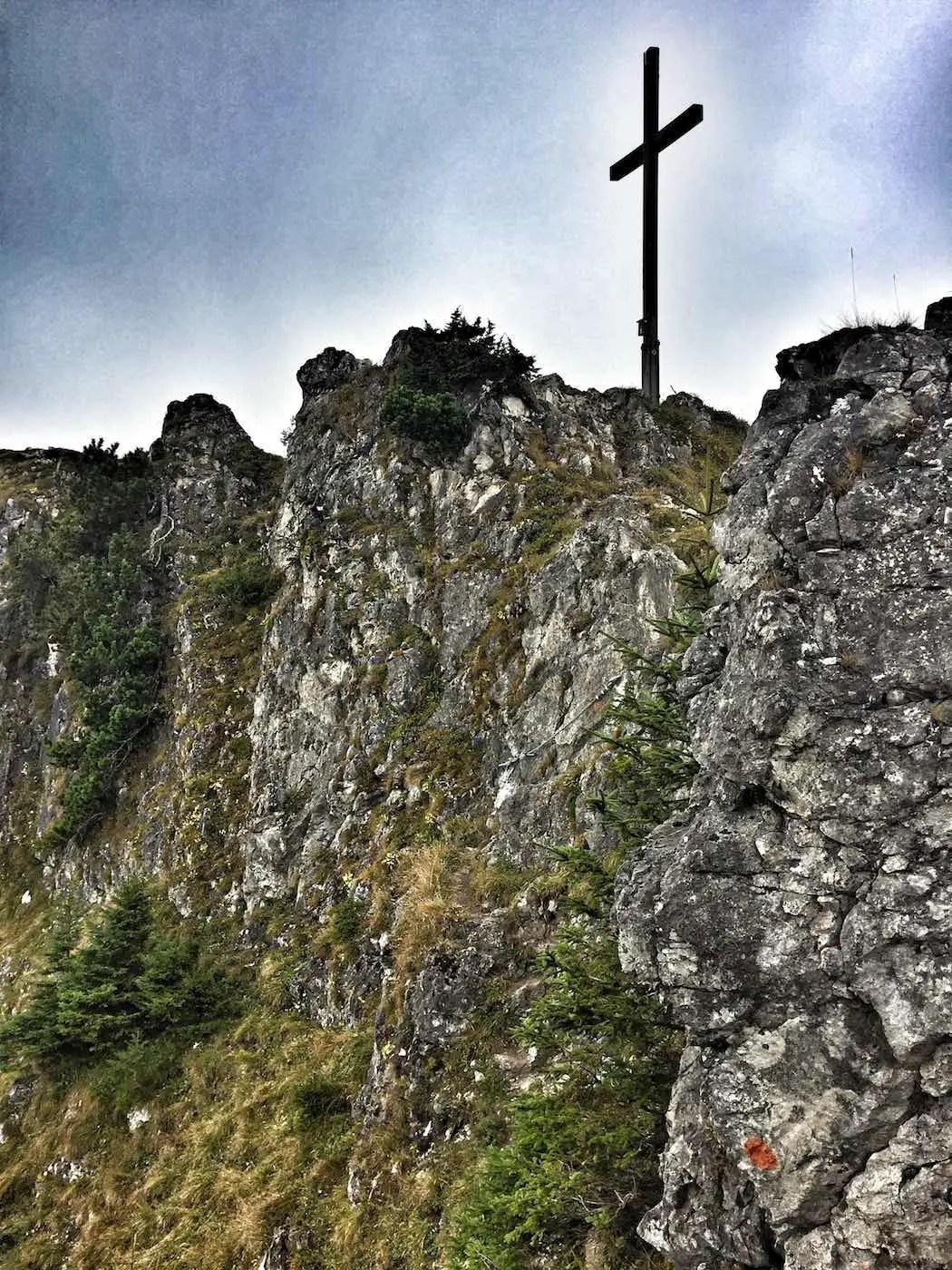 Gipfelkreuz Sorgschrofen