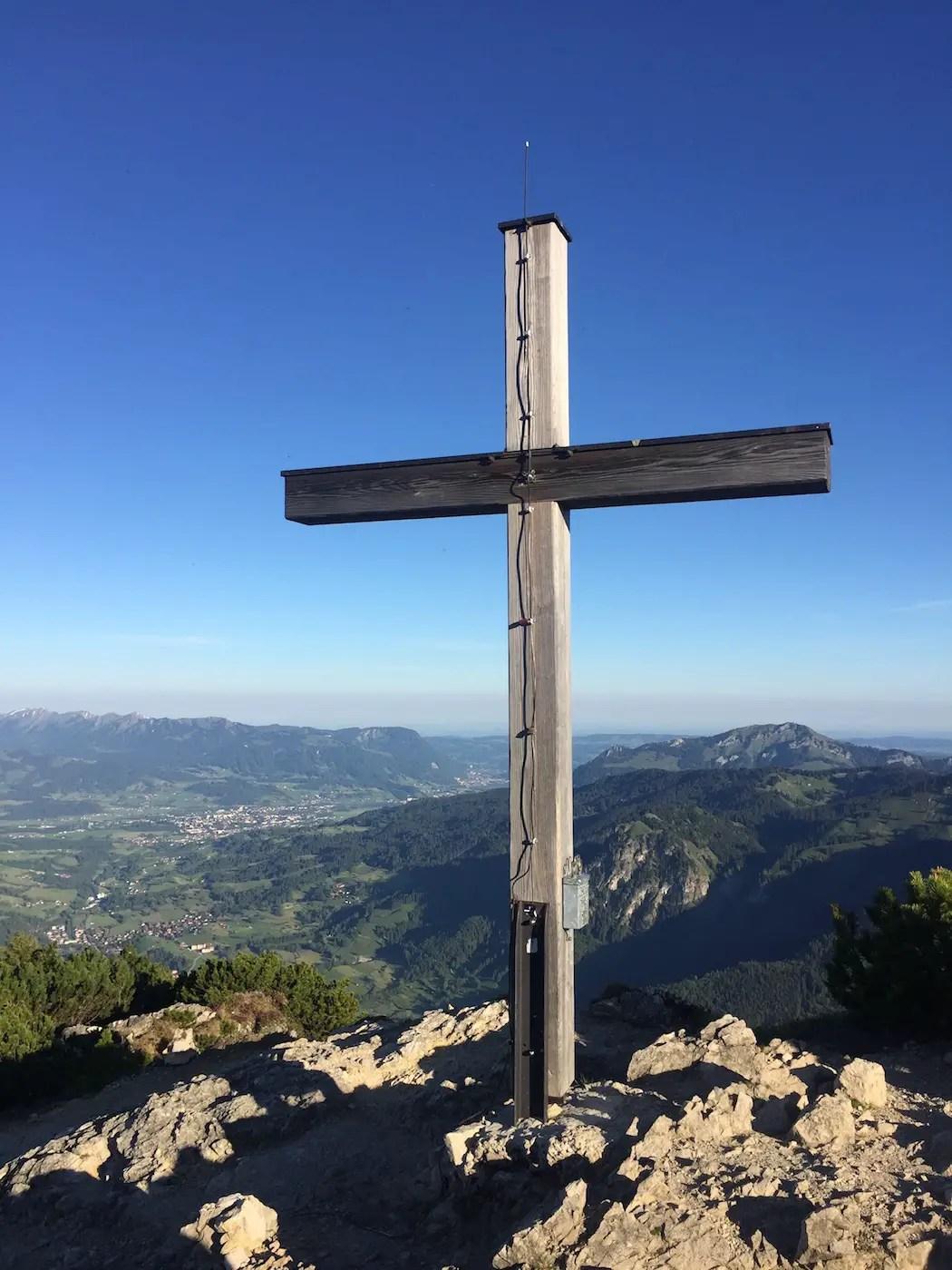 Iseler Gipfelkreuz