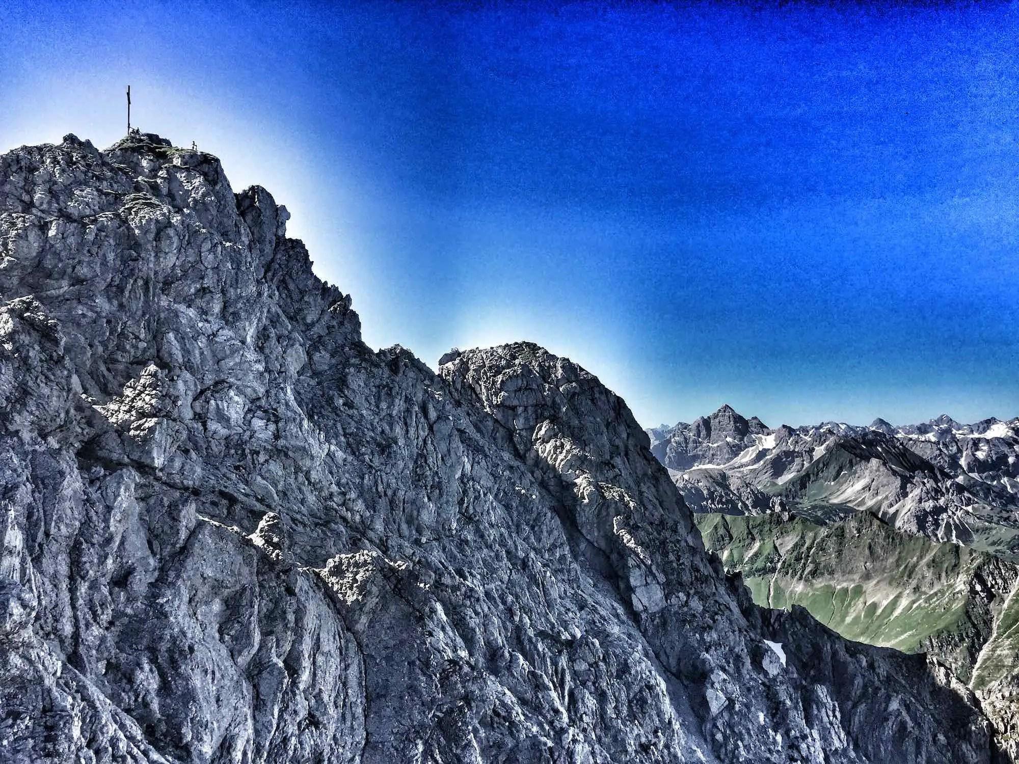 4 plus 1 Klettersteige im Allgäu