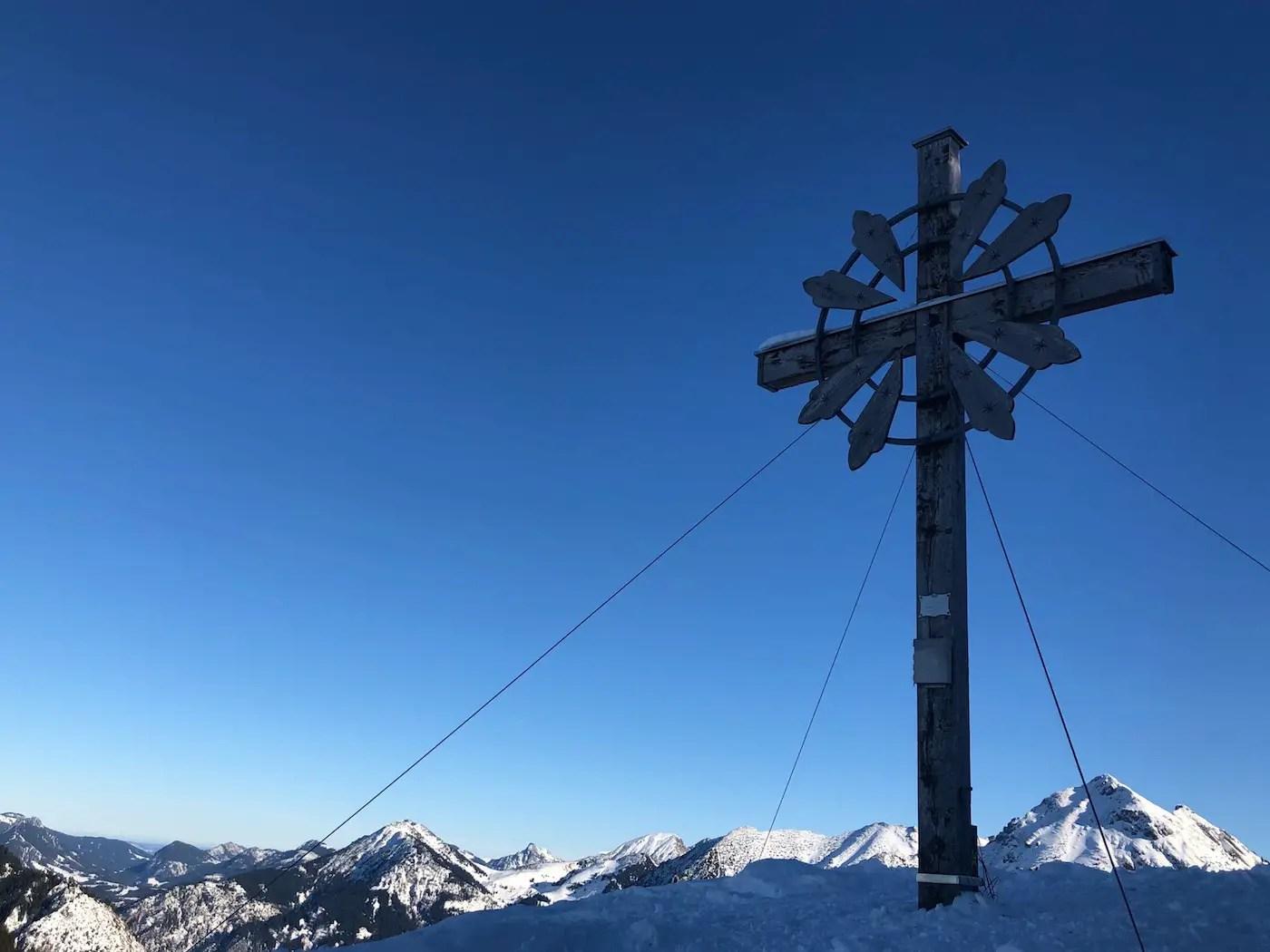Sonnenkopf Gipfelkreuz