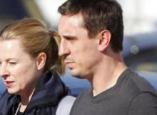 Gary-Neville-Diana-Law