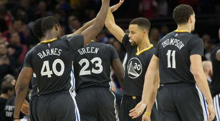 Golden State Warriors Bekuk 76ers