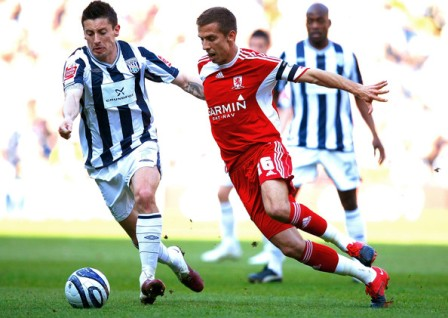 Prediksi West Bromwich Albion vs Middlesbrough
