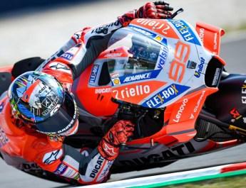 MotoGP 2018 Aragon (Kualifikasi) : Ducati Terlalu Perkasa, Lorenzo-Dovi Posisi 1-2, Rossi Ke-18 !