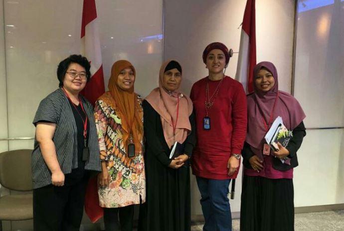 AWPF di Kantor Kedutaan Canada