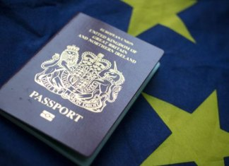 Paspor Biru
