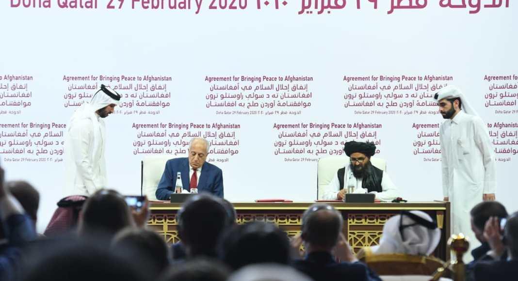 Menlu RI Hadir Dalam Penandatanganan Perjanjian Damai AS-Taliban