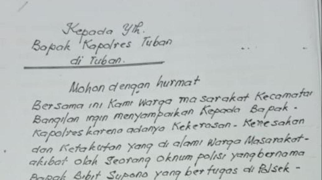 Petisi Warga Bangilan