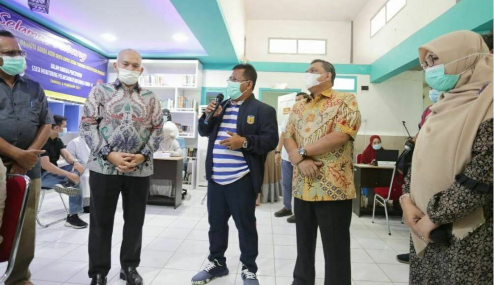 Vaksinasi Covid-19 Aceh
