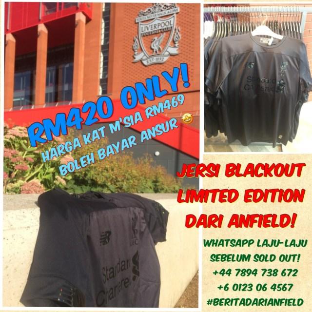 Tempah Jersi Blackout 19/20 Dari Anfield!