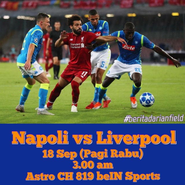 Matchday 1 UCL 19/20 - Napoli vs Liverpool