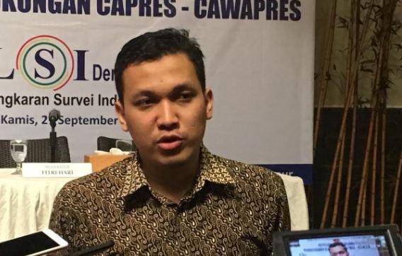 Peneliti LSI Denny JA, Ardian Sopa.